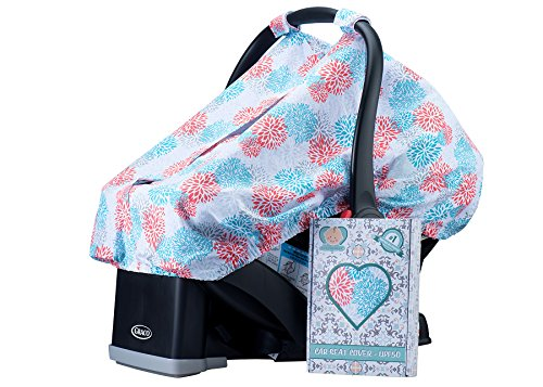 Baby Car Seat Cover. Fits All Infant Car Seats.UV50+ (Graco Car Seat Handle Cover compare prices)