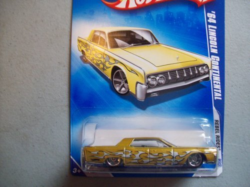 Hot Wheels 2009 Rebel Rides 1964 Lincoln Continental - 1
