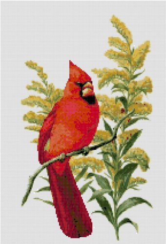 Kentucky State Symbol Counted Cross Stitch Pattern