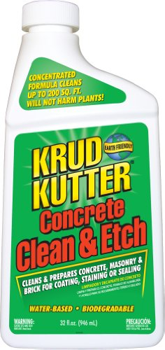 Krud Kutter CE32 32-Ounce Concrete Clean and Etch