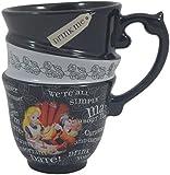 DISNEY PARKS EXCLUSIVE : Alice in Wonderland Quotes 12oz Ceramic Cup
