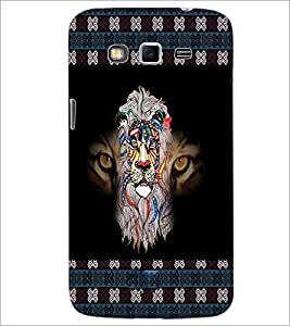 Printdhaba Tiger D-3026 Back Case Cover For Samsung Galaxy Grand 2