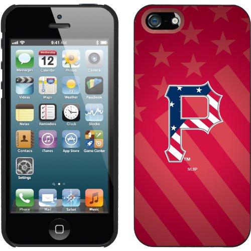 Best Price Pittsburgh Pirates - USA Red design on a Black iPhone 5 Thinshield Snap-On Case by Coveroo