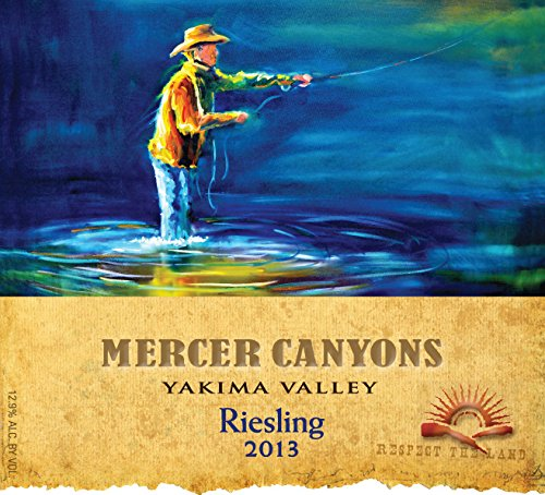 2013 Mercer Canyons Yakima Valley Riesling 750 Ml