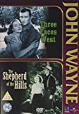 Three Faces West and Shepherd of The Hills - John Wayne [Import anglais]