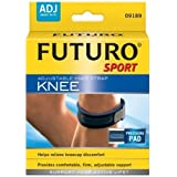 Futuro Adjustable Sport Knee Strap, One Size Adjustable (Pack Of 2)
