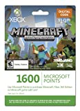 Xbox LIVE 1600 Microsoft Points for Minecraft: Xbox 360 Edition [Online Game Code]