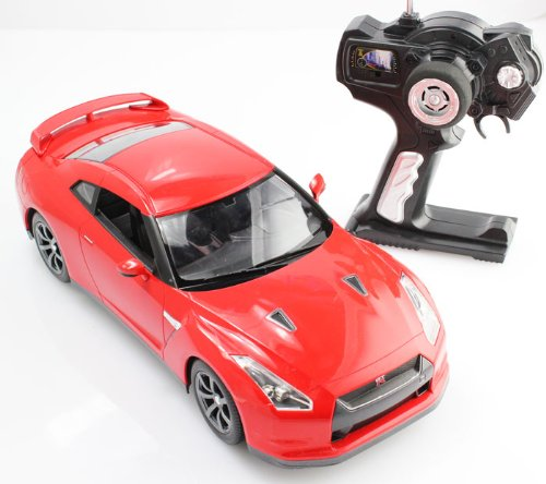 Review: New 1/14 Nissan GT-R Radio Control RC Car R/C Ready To Run (Color May Vary)