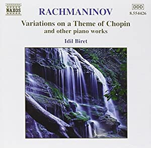 Variations on a Theme of Chopin & Other Pno Works