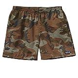 (パタゴニア)patagonia M's Baggies Shorts - 5 in. 57020 FCMH Forest Camo: Hickory//Brown L