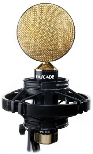 Cascade Microphones Fat Head (Cinemag) - Black/Gold