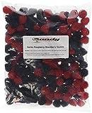 Haribo Raspberries Blackberries Gummi 2lb