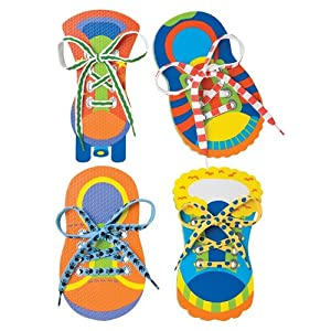 Amazon.com: ALEX Toys Little Hands One, Two Tie My Shoe: Toys & Games