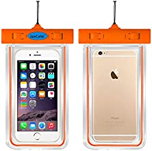 Universal Waterproof Pouch CaseJanCalm Luminous Feature IPX8 Certified Protective Smartphone Credit