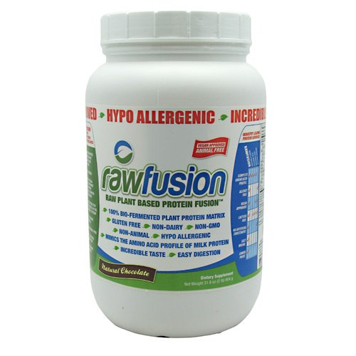 San Protein Supplements Raw Fusion Natural Choc 30/Sr