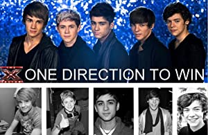 "One Direction PoP Music Group Wall Silk Fabric Poster Print 20x13"" by greatrateshop"