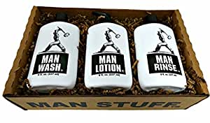 Man Stuff Man Stuff Gift Set Bath And Body For Men