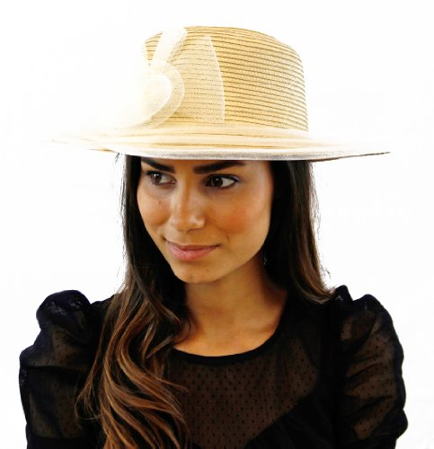 The Mint Julep Hat (Dark Ivory)