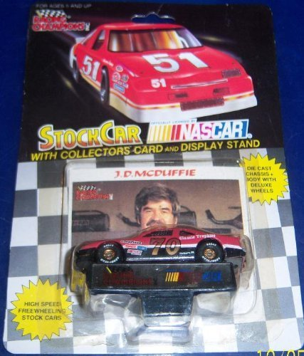 1992 Racing Champions # 70 J. D McDuffie 1/64 scale