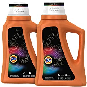 Tide Total Care HE Liquid Detergent Renewing Rain - 2 pk.