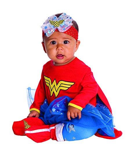 Image - DC Comics Baby Wonder Woman Onesie And Headpiece