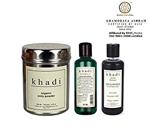 Khadi Total Hair Care Combo -1 (Set of 3)
