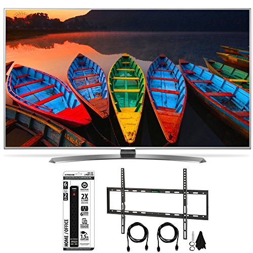 Click to buy LG 65UH7700 65-Inch Super UHD 4K Smart TV w/ webOS 3.0 Flat Wall Mount Bundle includes Television, Flat Wall Mount Ultimate Kit and Power Strip with Dual USB Ports - From only $11999