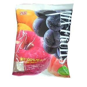 果汁100%ゼリー ミックスフルーツ味 22個入り