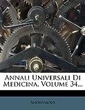 Annali Universali Di Medicina, Volume 34... (Italian Edition)