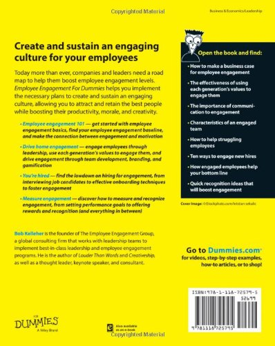 employee engagement for dummies pdf