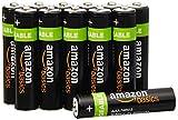 AmazonBasics Vorgeladene Ni-MH AAA-Akkus - Akkubatterien, 800 mAh, 12 Stck (Batterienfolie kann vom Produktfoto abweichen)
