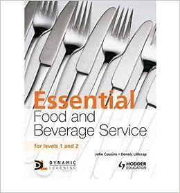 Lillicrap food and beverage service