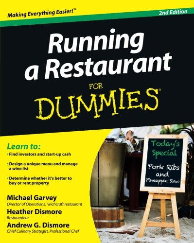 Running a Restaurant For Dummies (Service Management Dummies compare prices)