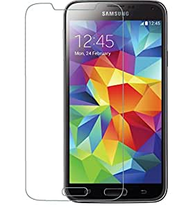 VJOY Antishock Tempered Glass Screen Protector for Samsung Galaxy S5 octa-core (Pack of TWO Front Transparent Screen Protector) Coated with HYDROPHOBIC and OLEOPHOBIC Clear Layer, the glass protects against sweat and oil residue from fingerprints and keep your phone screen pristine all day long. Virtually invisible - 99.9% Ultra Crystal Clear. Precise laser cut tempered glass, exquisitely polished, 2.5D round edges.