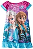 Disney Little Girls'  Frozen Anna and Elsa Nightgown