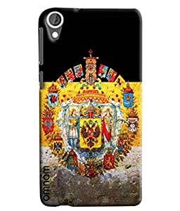Omnam Flags With Culture Defined Printed Designer Back Cover Case For HTC Desire 820