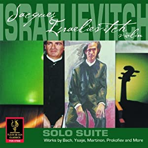 Jacques Isralievitch: Solo Suite