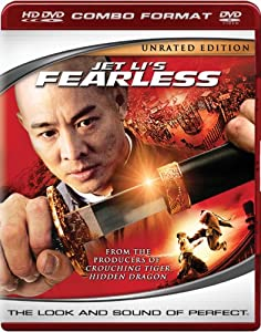 "Cover of ""Jet Li's Fearless (Combo HD DVD..."
