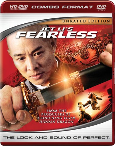 Cover art for  Jet Li's Fearless (HD DVD/DVD Combo)