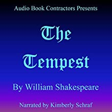 The Tempest Audiobook by William Shakespeare Narrated by Kimberly Schraf