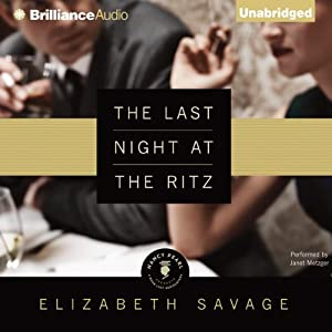 The Last Night at the Ritz | [Elizabeth Savage]