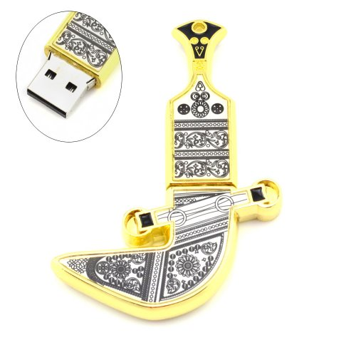 Oman Metal Knife Shaped 8Gb Usb Flash Drive