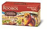 Celestial Seasonings African Tea, Madagascar Vanilla Red, 20-Count Tea Bags (Pack of 6)