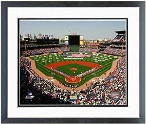 Atlanta Braves Turner Field MLB Stadium Photo (Size: 22.5 x 26.5) Framed by MLB