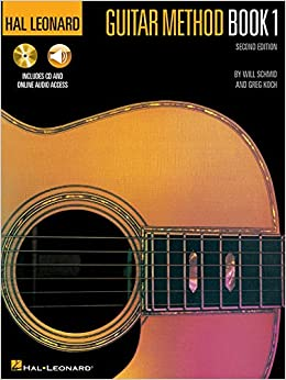hal leonard guitar method book 1 book cd pack will schmid greg koch 9780793533923 amazon. Black Bedroom Furniture Sets. Home Design Ideas