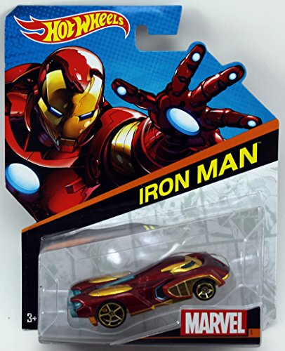 Hot Wheels, Marvel Character Car, Iron Man #1, - 1