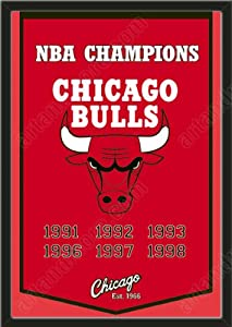 Dynasty Banner Of Chicago Bulls-Framed Awesome & Beautiful-Must For A... by Art and More, Davenport, IA