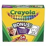 Crayola 64 Ct Crayons (Pack of 2)