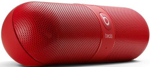 Beats By Dr. Dre Pill 2.0 Wireless Portable Speaker System With Bluetooth Conferencing (Red)