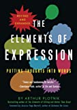 The Elements of Expression: Putting Thoughts into Words